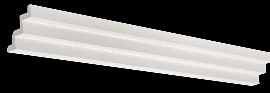Plaster steps cornices