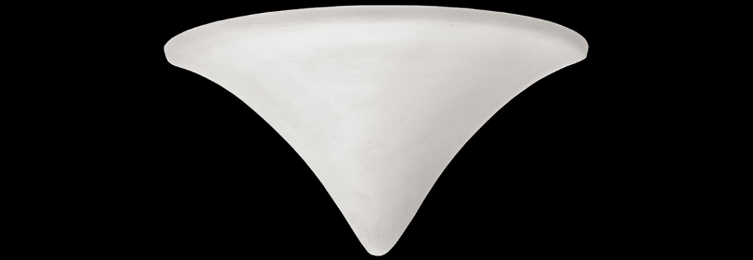 Plaster lamp shades