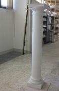 Plaster tuscan column