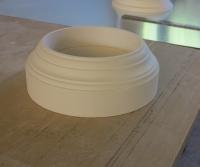 Plaster column base