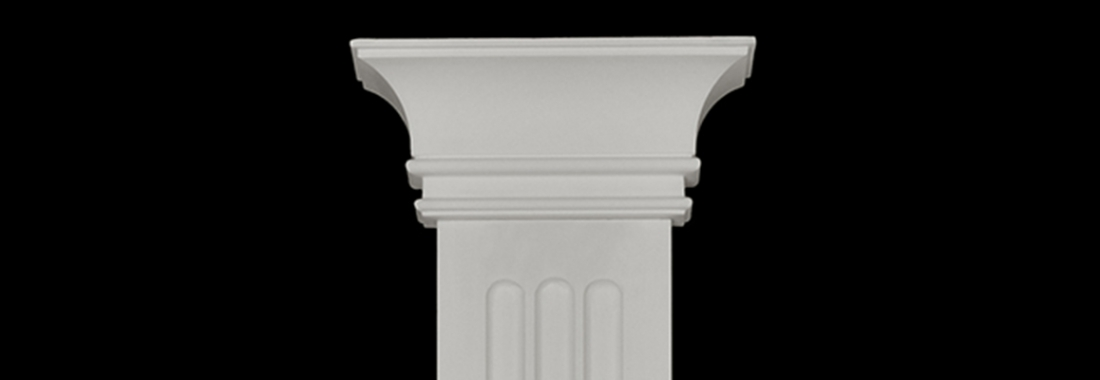Plaster pilasters