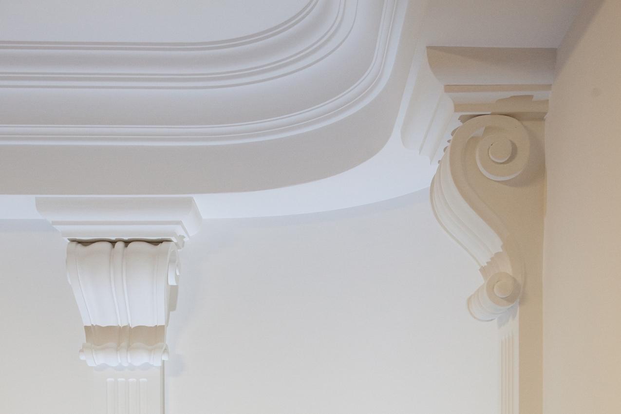 Plaster corner cornices - Decorazioni in gesso ...
