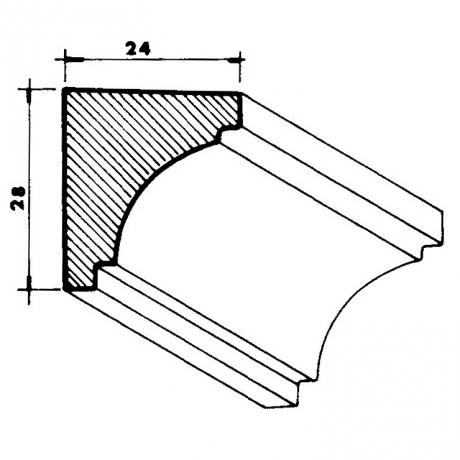Plaster Corner Cornices