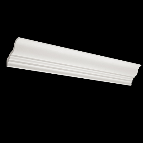 Plaster cornices for diffuse light